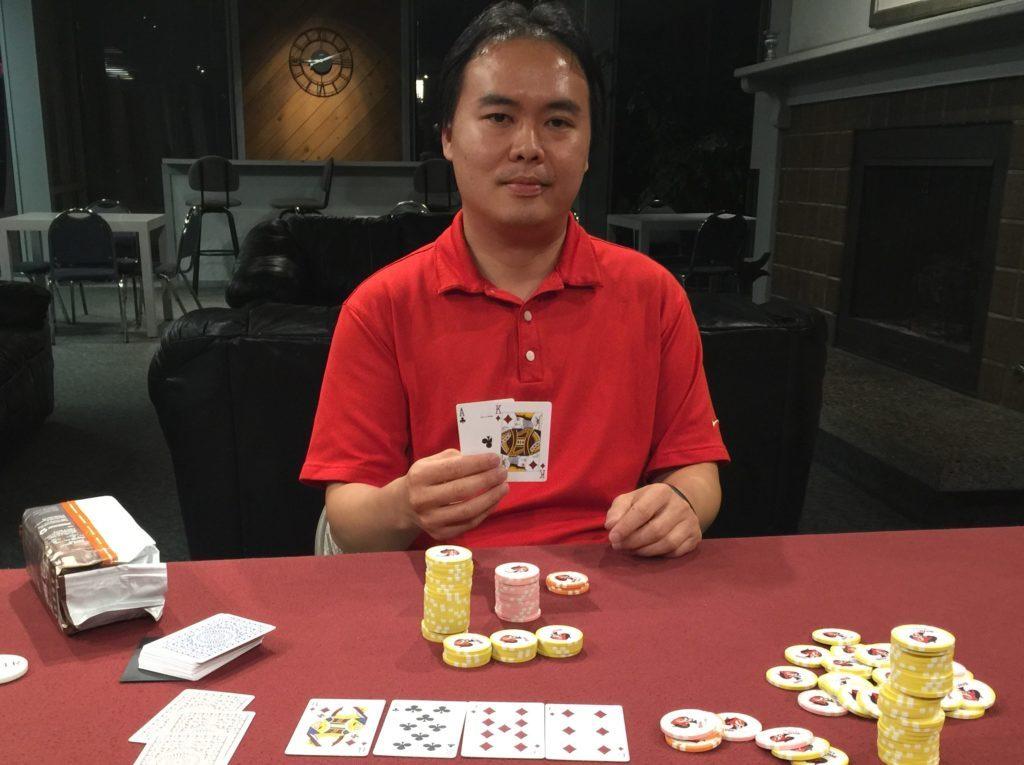 Ed Tsai wins tournament 5