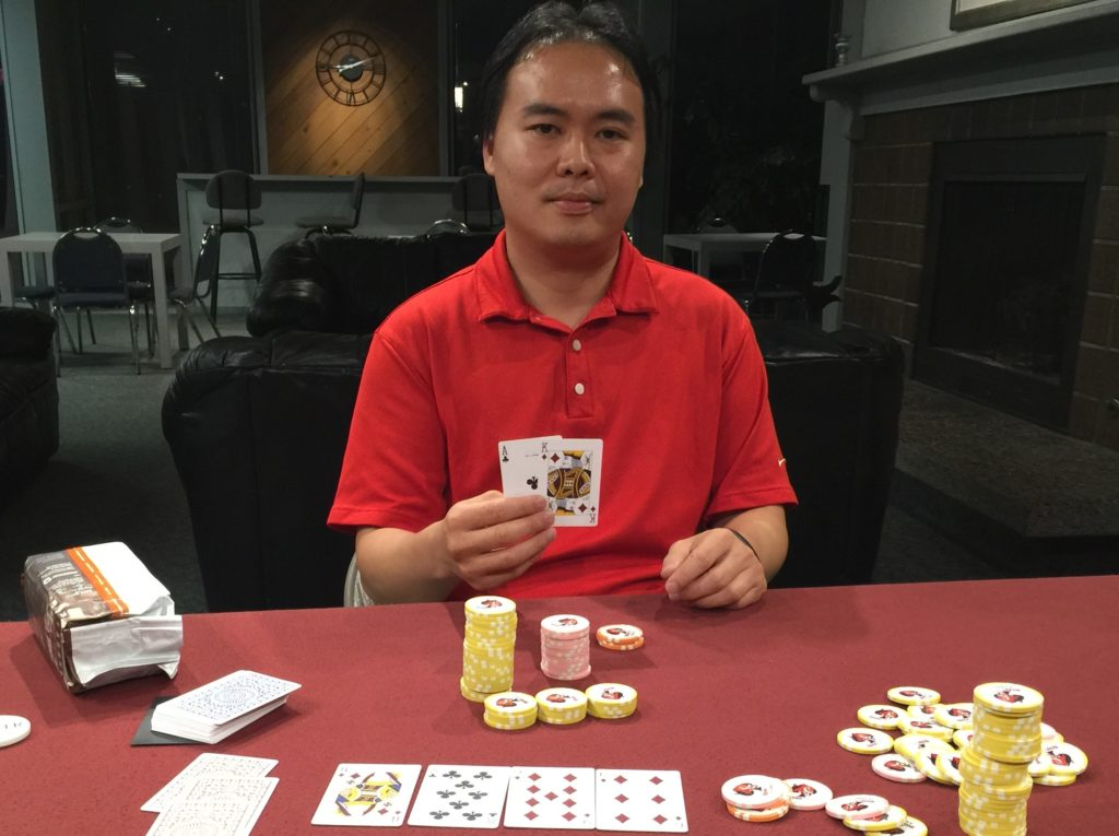 Ed Tsai wins tournament 5